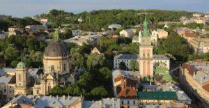Lwów, panorama miasta