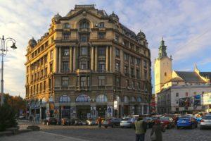 Lwów Plac Mickiewicza