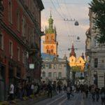 Lwów rynek miasta