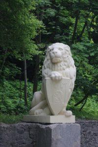 Pomnik Lwa - symbol miasta