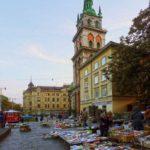 Targ książek we Lwowie