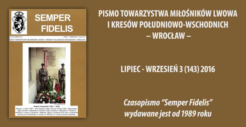 Semper Fidelis 3/2016
