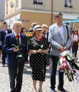 Profesor Antoni Cieszyński - uroczystość
