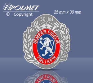 Odznaka - 30 lat TMLiKPW